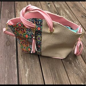 Floral Design hobo bag